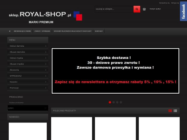 https://sklep.royal-shop.pl • Outlet pepe jeans online