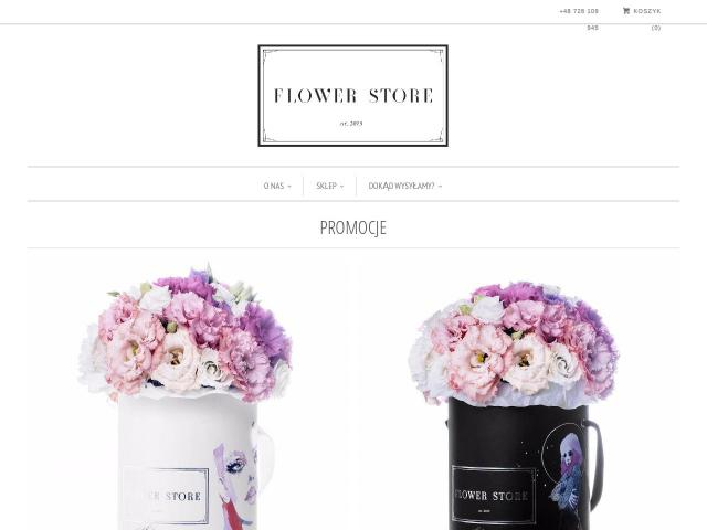 https://flowerstore.pl/ • Flower Box